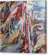 Convergance Of A Moment Canvas Print