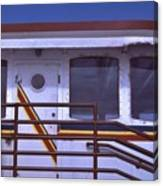 Converted Tugboat Cabin   Canal Park  Duluth Minnesota Canvas Print
