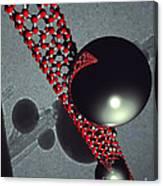 Conveyor Belt For Nano-age Canvas Print