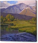 Convict Creek-eastern Sierras Canvas Print