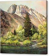 Convict Lake In May Canvas Print