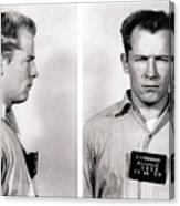 Convict No. 1428 - Whitey Bulger - Alcatraz 1959 Canvas Print