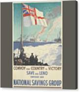 Convoy Your Country To Victory Canvas Print