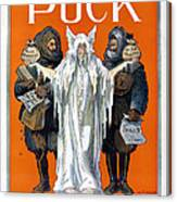 Cook And Peary, 1909 Canvas Print