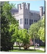 Cook Hall Illinois State Univerisity Canvas Print