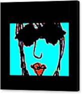 Cool Girl Derivative Canvas Print