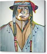 Cool Hat Canvas Print