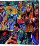 Cool Jazz Canvas Print
