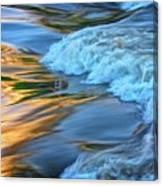 Cool Liquid Gold Canvas Print