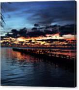 Cool Morning Rise  Canvas Print