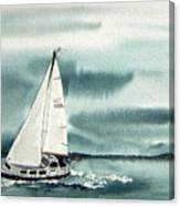 Cool Sail Canvas Print