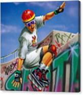 Cool Skater Canvas Print