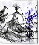 Cool Sketch 128 Canvas Print