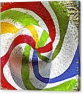 Cool Summer Hat Canvas Print