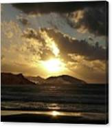 Cool Sunrise Canvas Print