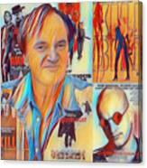 Cool Tarantino Canvas Print