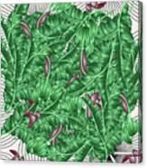 Cool Tropic  Canvas Print
