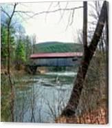 Coombs Covered Bridge Canvas Print