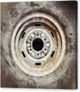 Cooper Discoverer Radial Lt Tire Canvas Print
