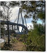 Cooper River Bridge Afternoon Canvas Print