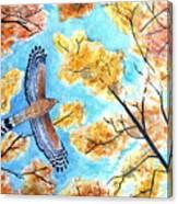 Cooper's In Autumn Canvas Print