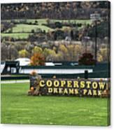 Cooperstown Dreams Park Canvas Print