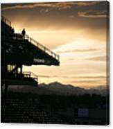 Coors Field At Sunset Canvas Print