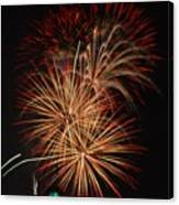Coors Field Fireworks 4 Canvas Print
