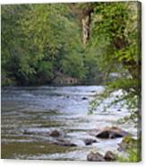 Coosawattee River Canvas Print