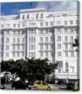 Copacabana Palace Canvas Print