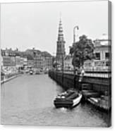 Copenhagen Canal 1 Canvas Print