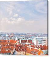 Copenhagen City Denmark Canvas Print