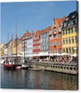 Copenhagen Harbor Canvas Print