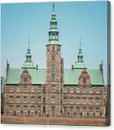 Copenhagen Rosenborg Castle Back Facade Canvas Print