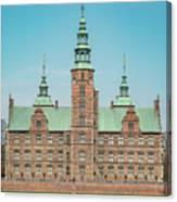 Copenhagen Rosenborg Castle Facade Canvas Print