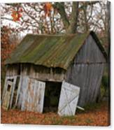 Copening Hill Shed Canvas Print