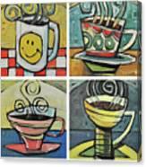 Copious Amounts Of Coffee Canvas Print