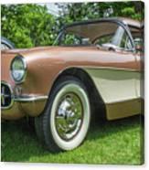 Copper 1967 Corvette  Canvas Print