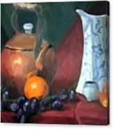 Copper And Neiman Vase Canvas Print