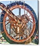 Copper Bike Liberty Ambassador Ny  Canvas Print
