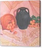 Copper Bronze And Apricots Canvas Print