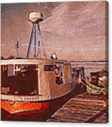 Copper Harbor Waterfront Canvas Print
