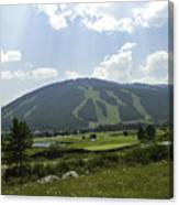 Copper Mountain Ski Area - Copper Mountain Colorado Canvas Print