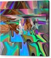 Copper Prism Canvas Print