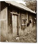 Copper Valley Shack Canvas Print