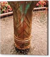 Copper Water Fountain Canvas Print