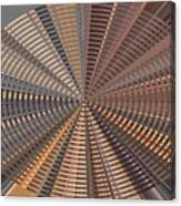 Reflecting On A Bright Copper World Canvas Print