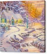 copy of Evening Glow Canvas Print