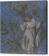 Copy Of Giotto's Frescoes Canvas Print