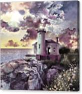 Coquille River Lighthouse 2 Canvas Print